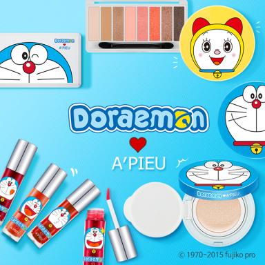A'PIEU x Doraemon